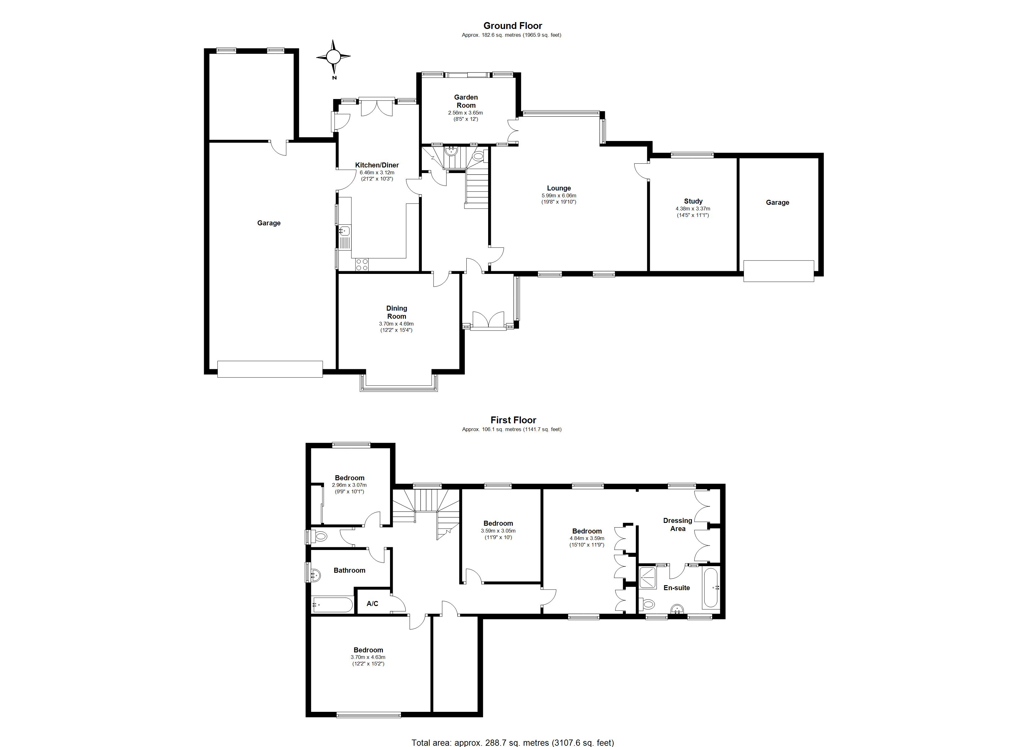 Floorplan for Dove House Lane, Solihull