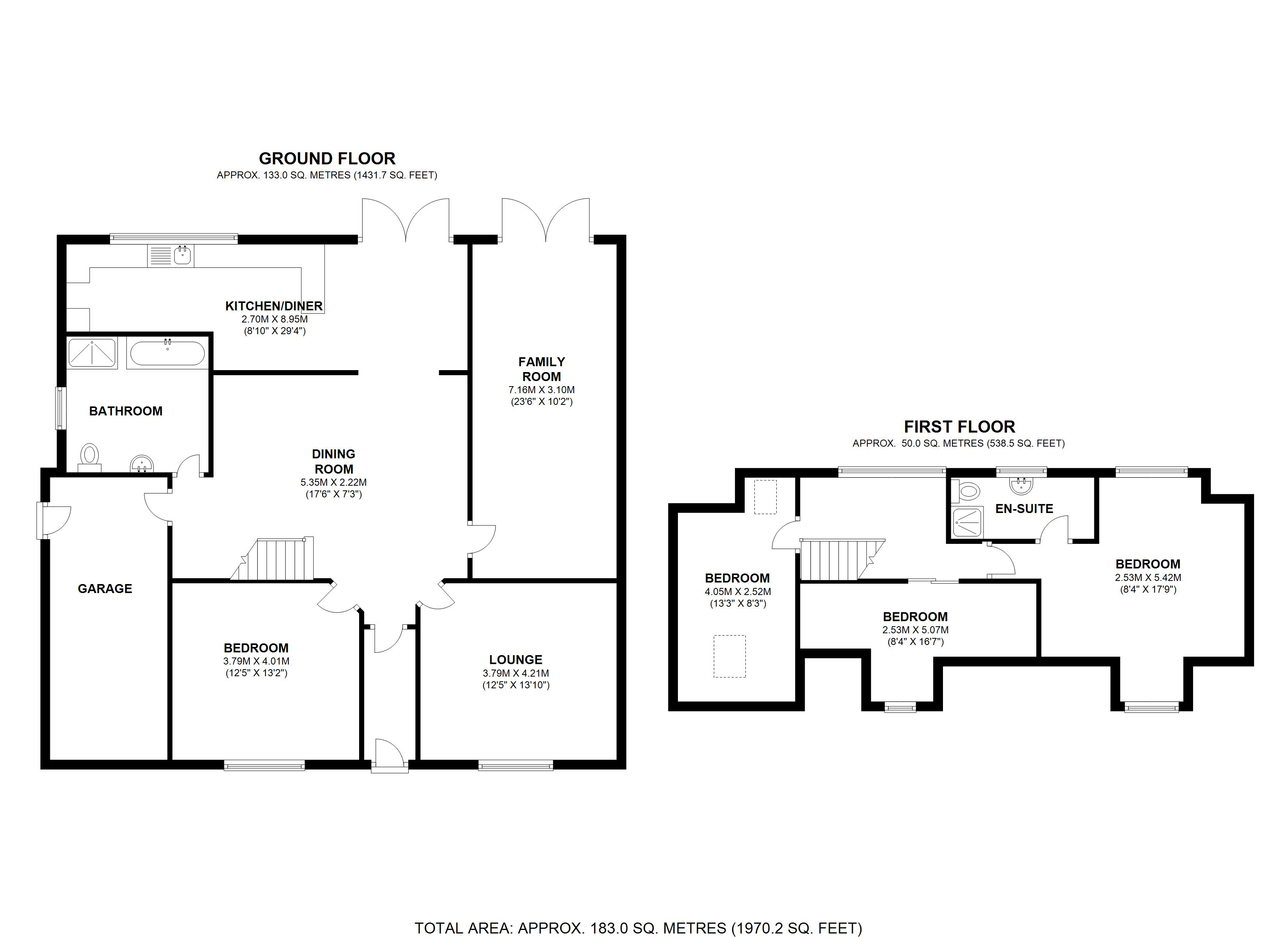 Floorplan for Mason Lane, Solihull