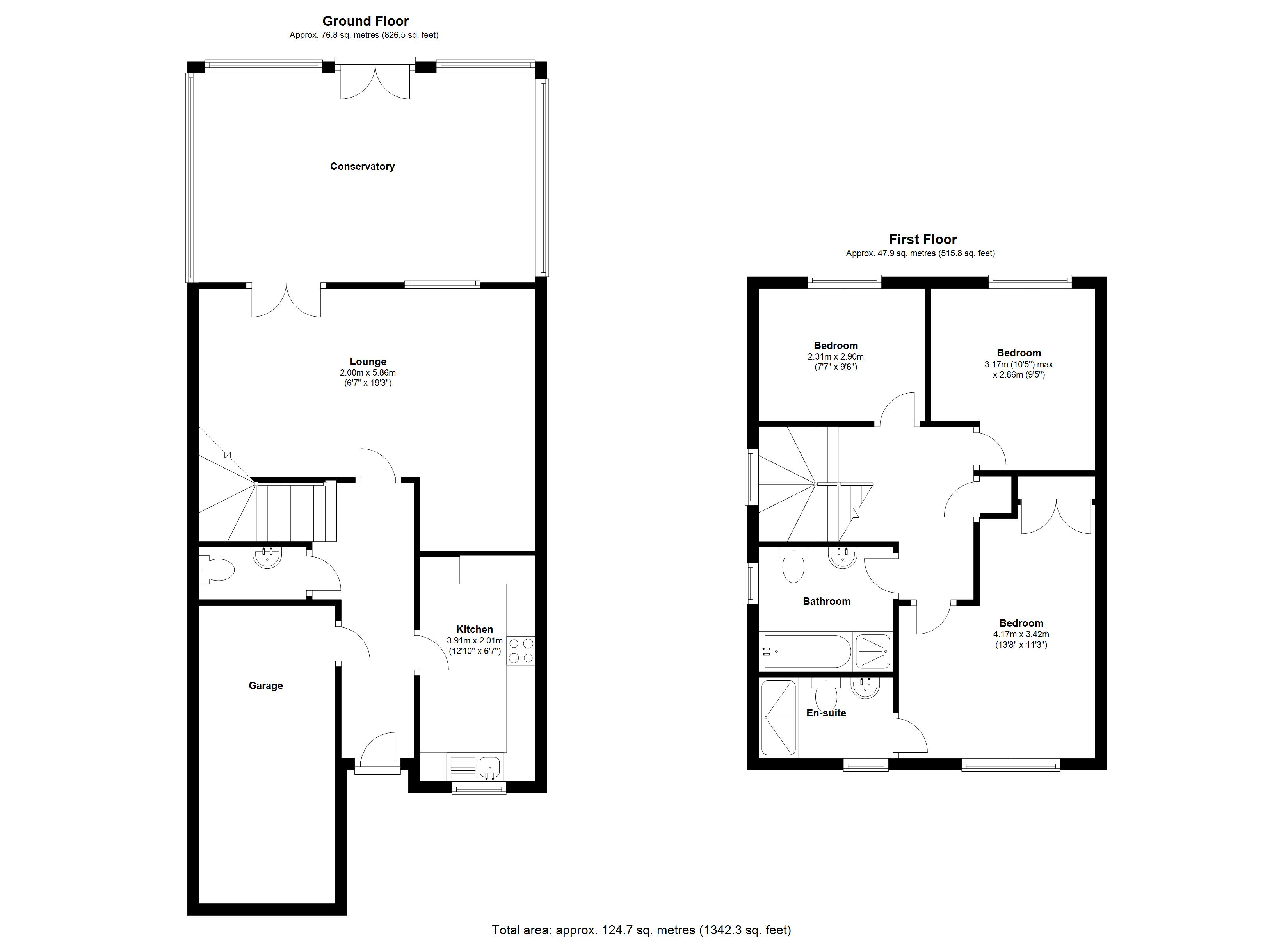 Floorplan for Fow Oak, Coventry
