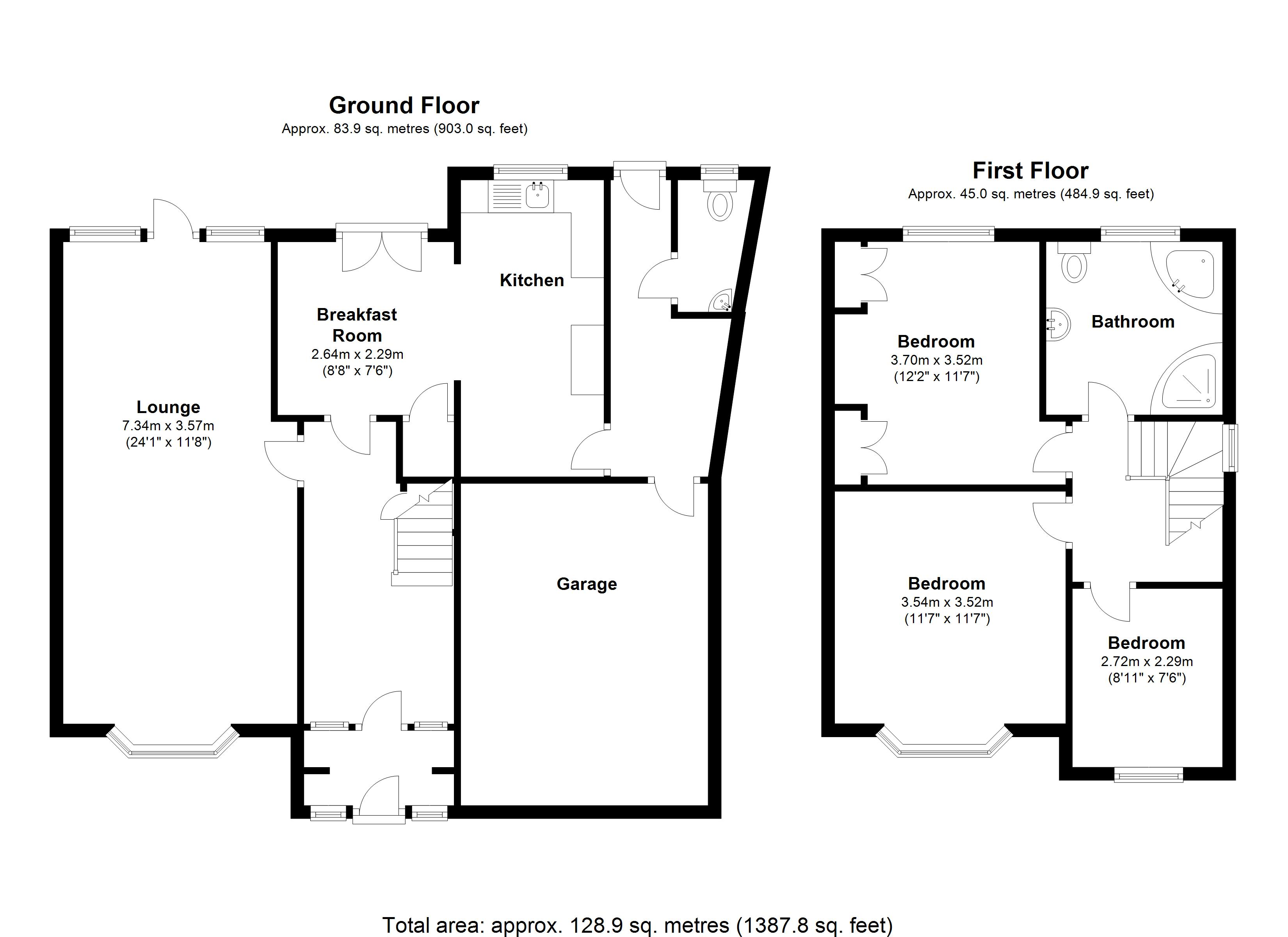 Floorplan for Lode Lane, Solihull