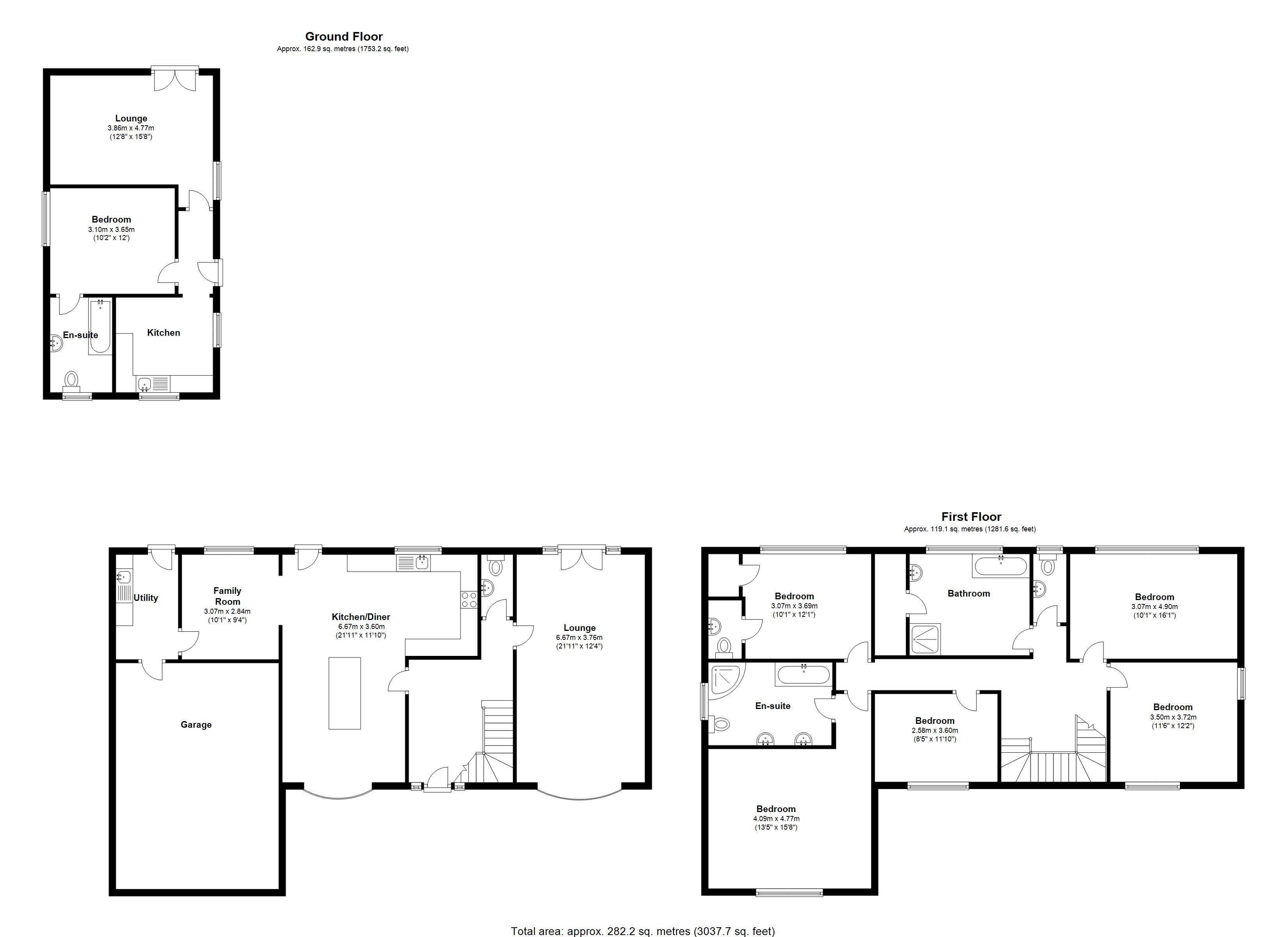 Floorplan for The Fordrough, Solihull
