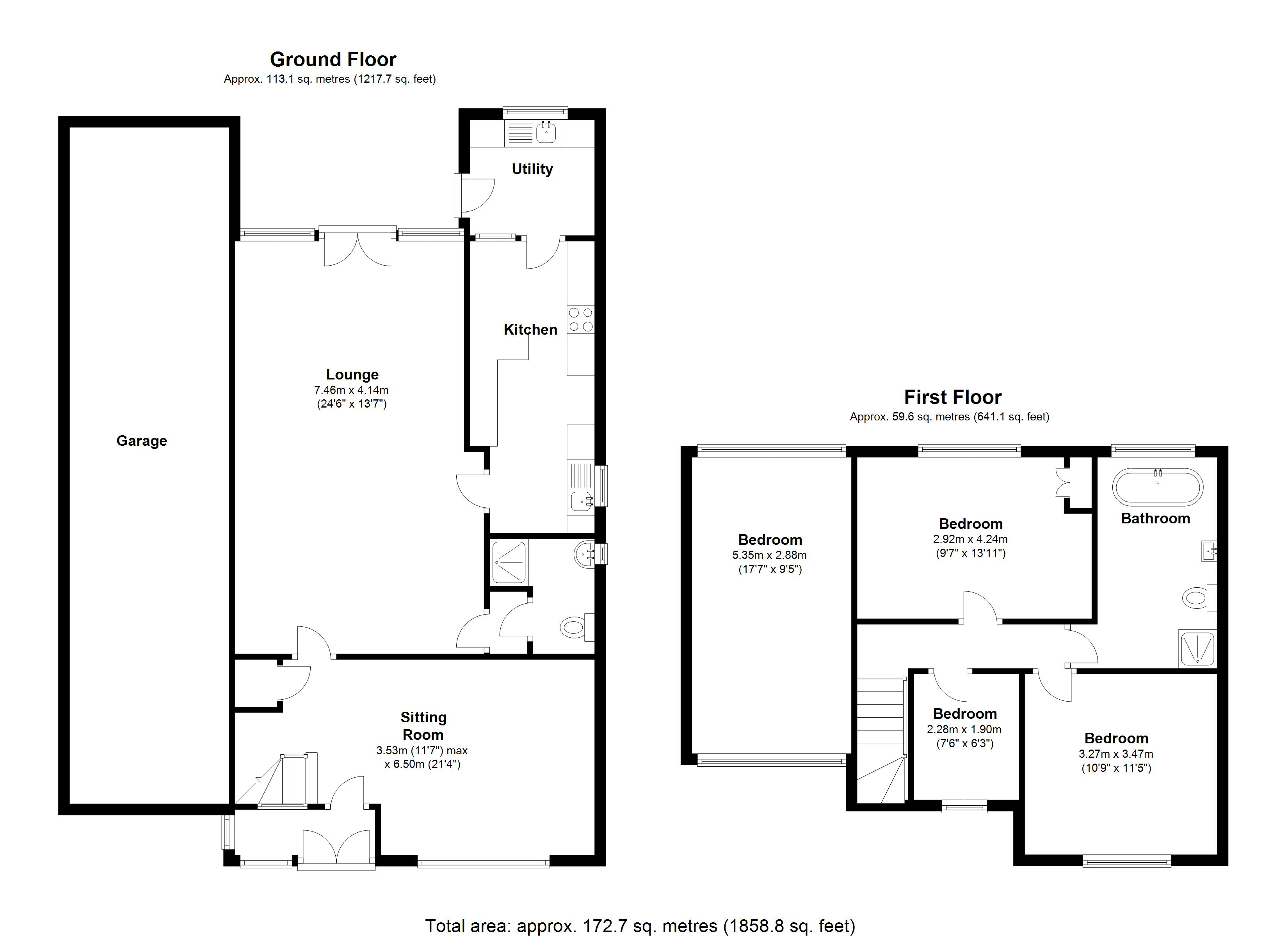 Floorplan for Lugtrout Lane, Solihull