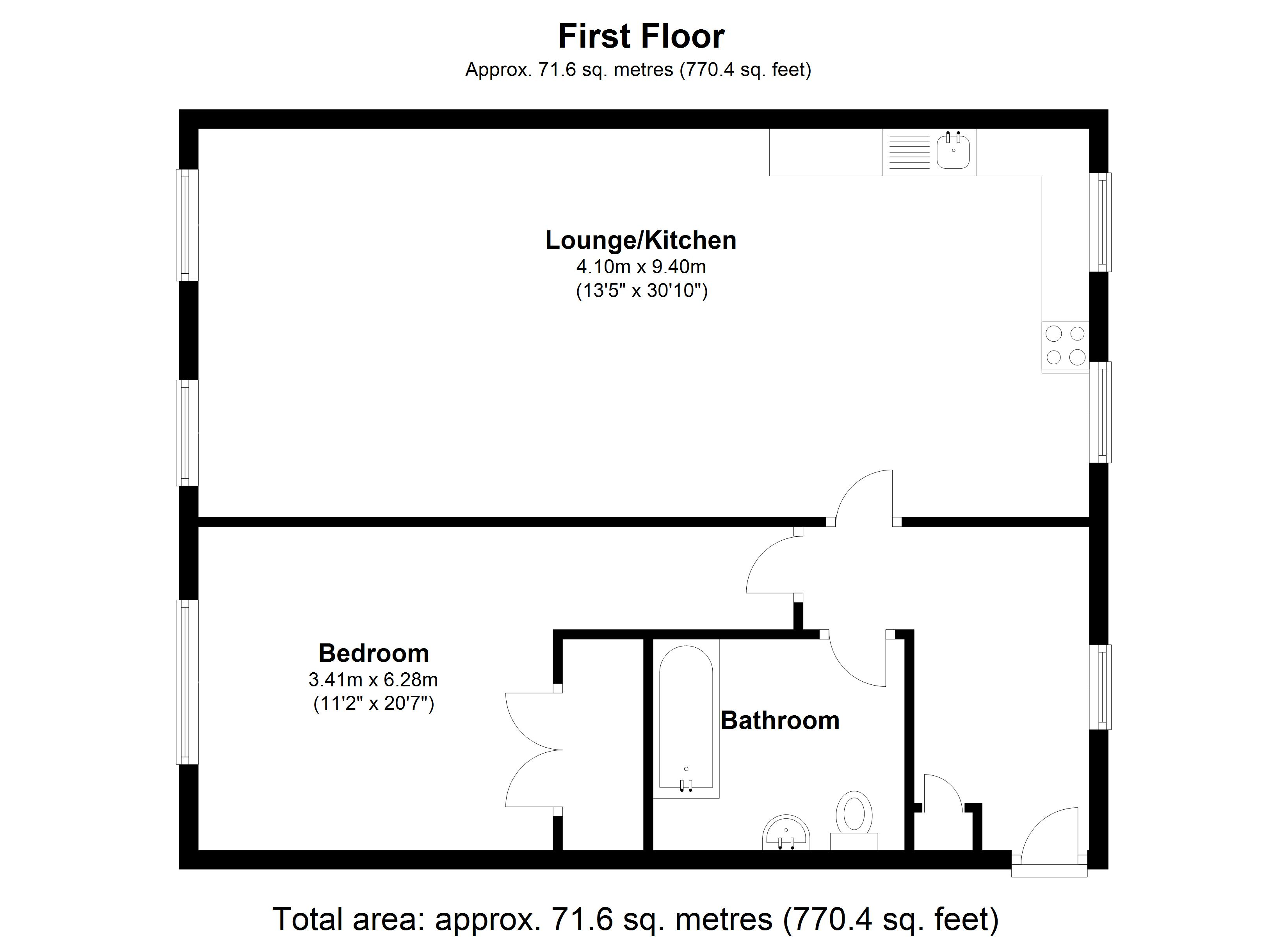 Floorplan for Hensborough, Solihull