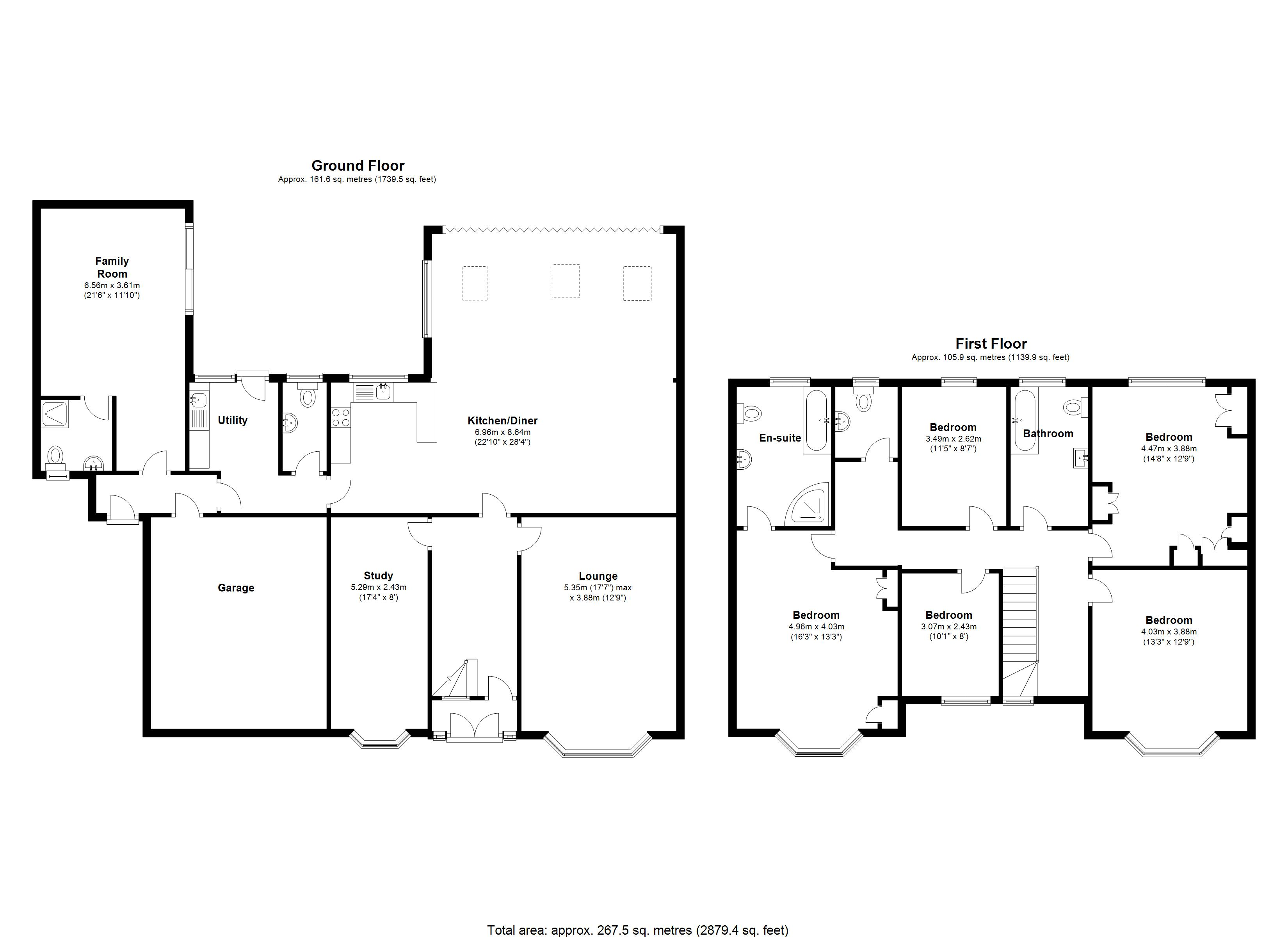 Floorplan for Widney Lane, Solihull