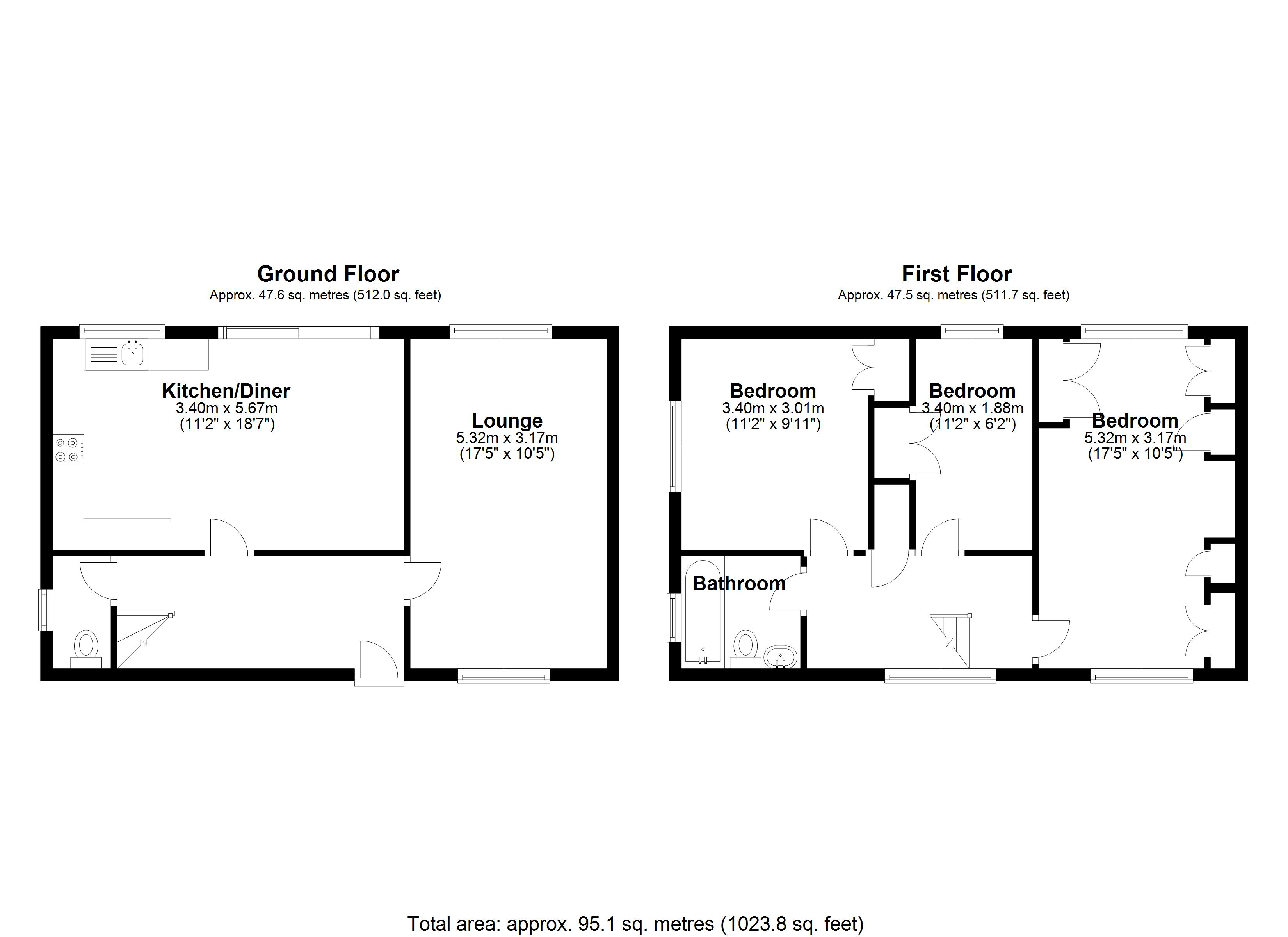 Floorplan for Alspath Road, Coventry