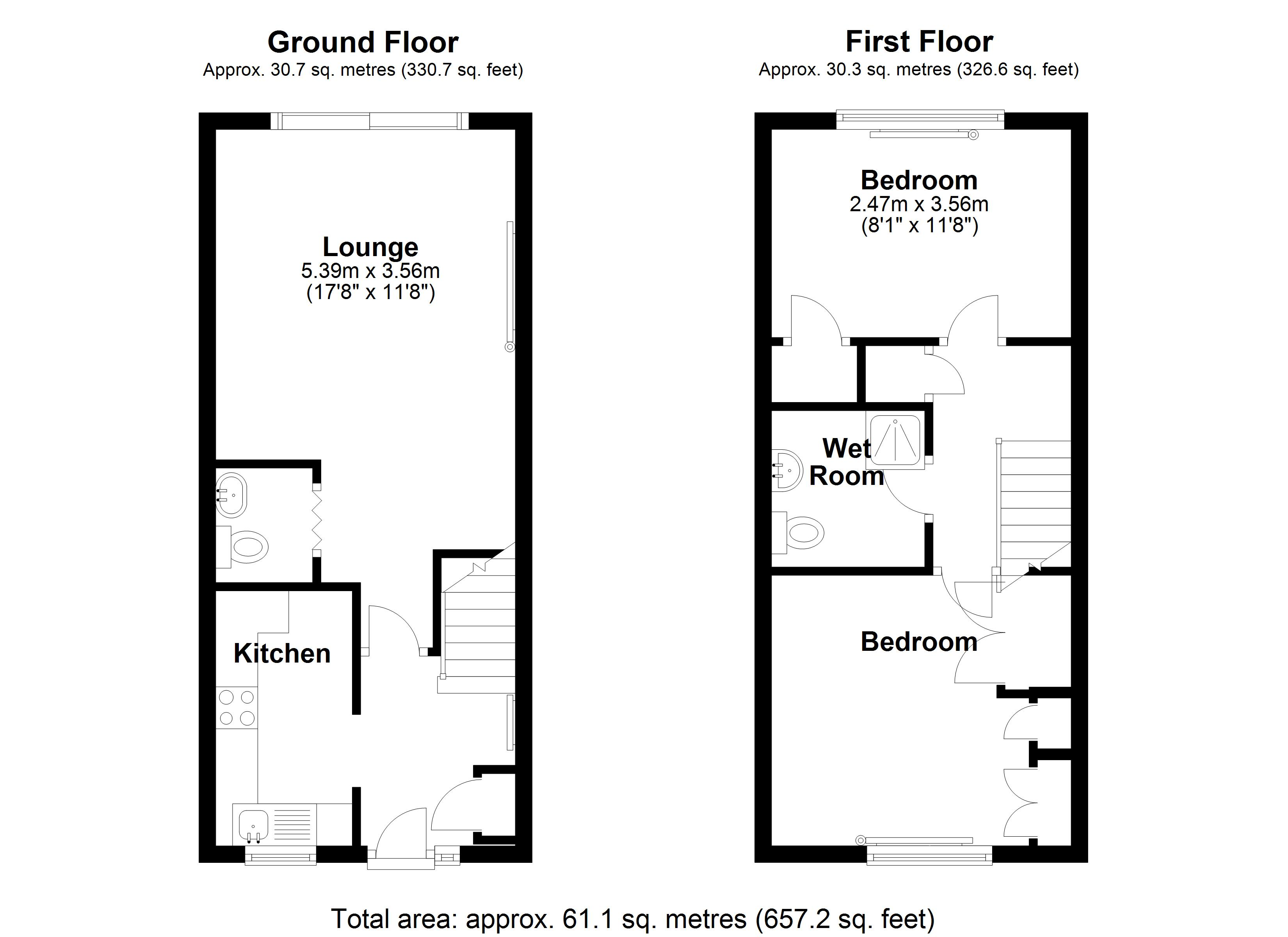 Floorplan for Winchcombe Road, Solihull