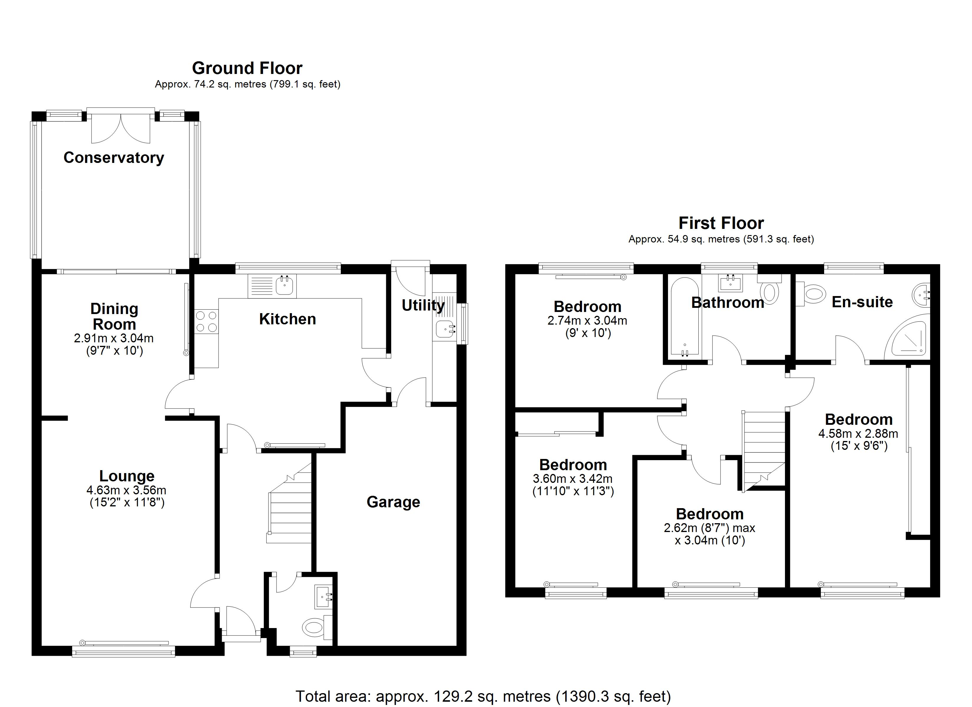 Floorplan for Elmbridge Drive, Solihull