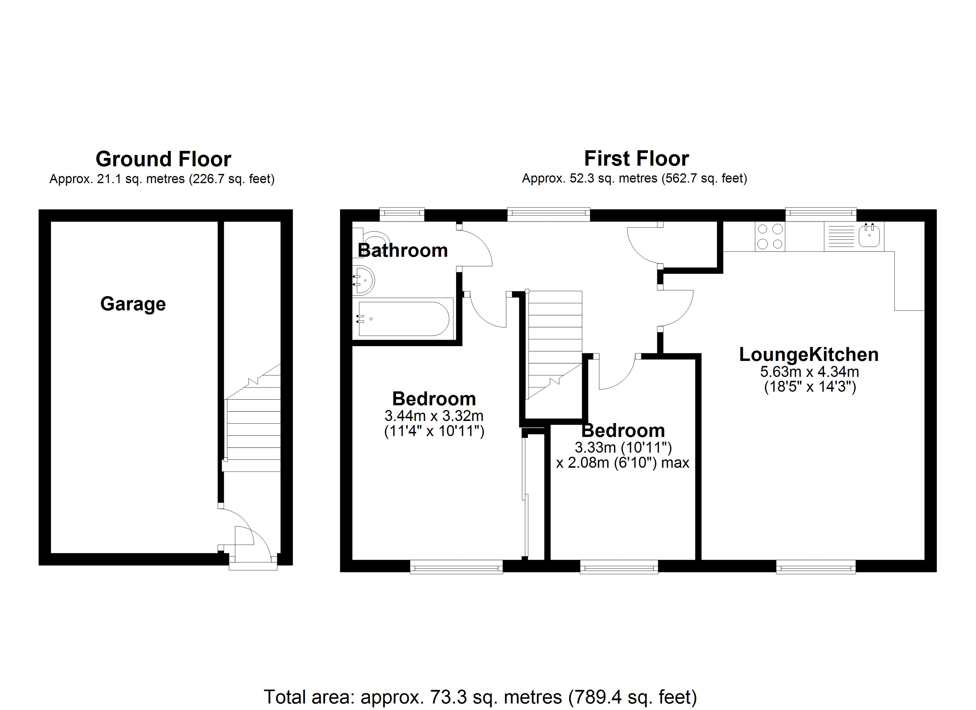 Floorplan for Wharf Lane, Solihull