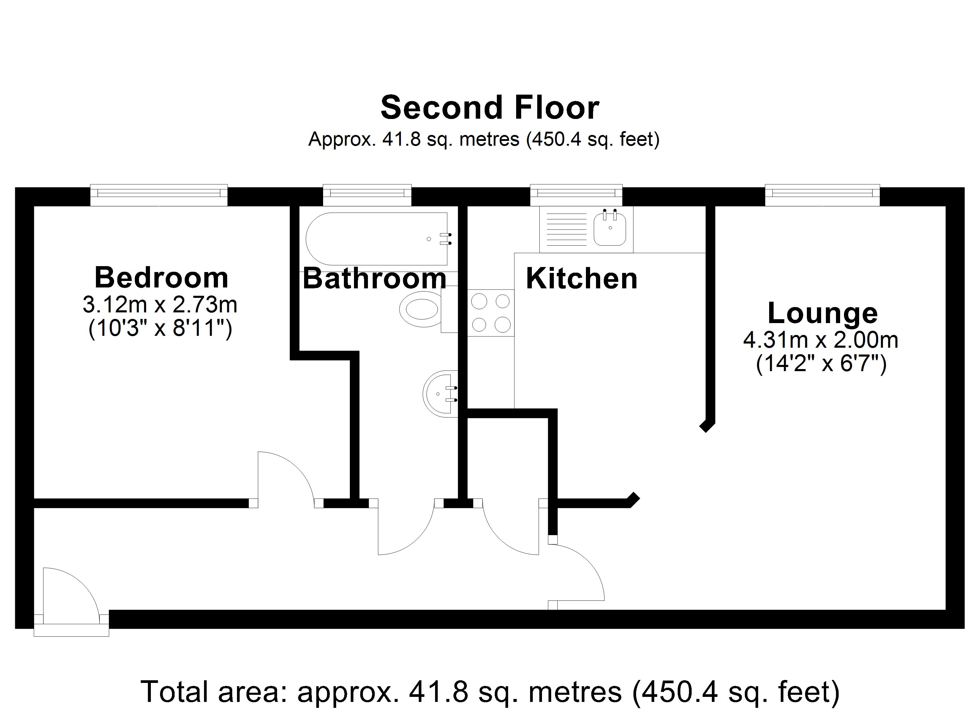 Floorplan for Avery Court, Solihull