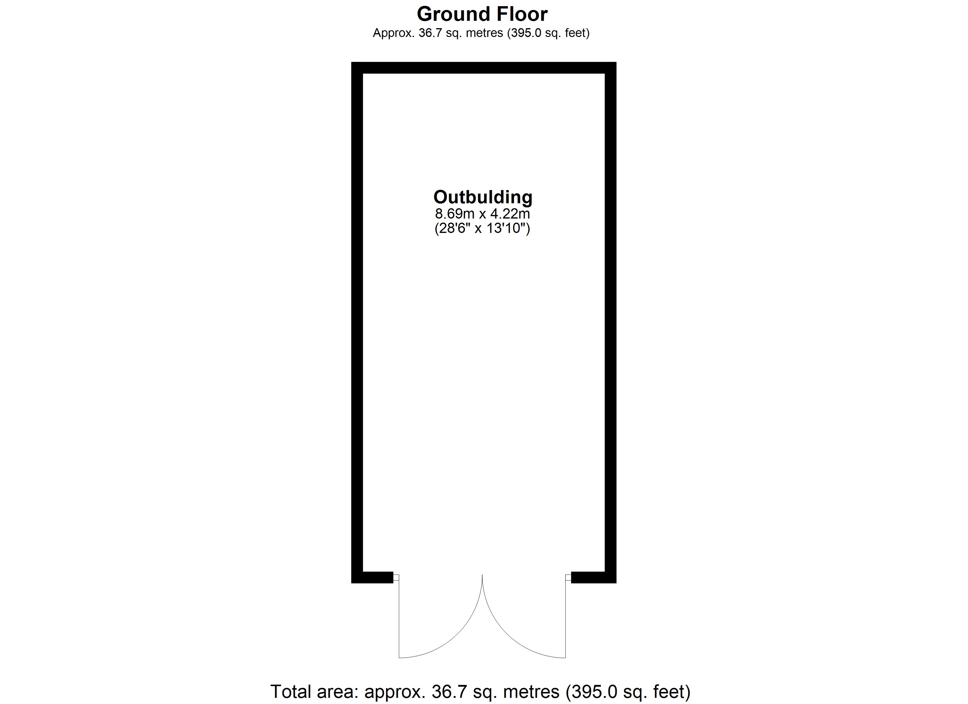 Floorplan for Low Road, Evesham