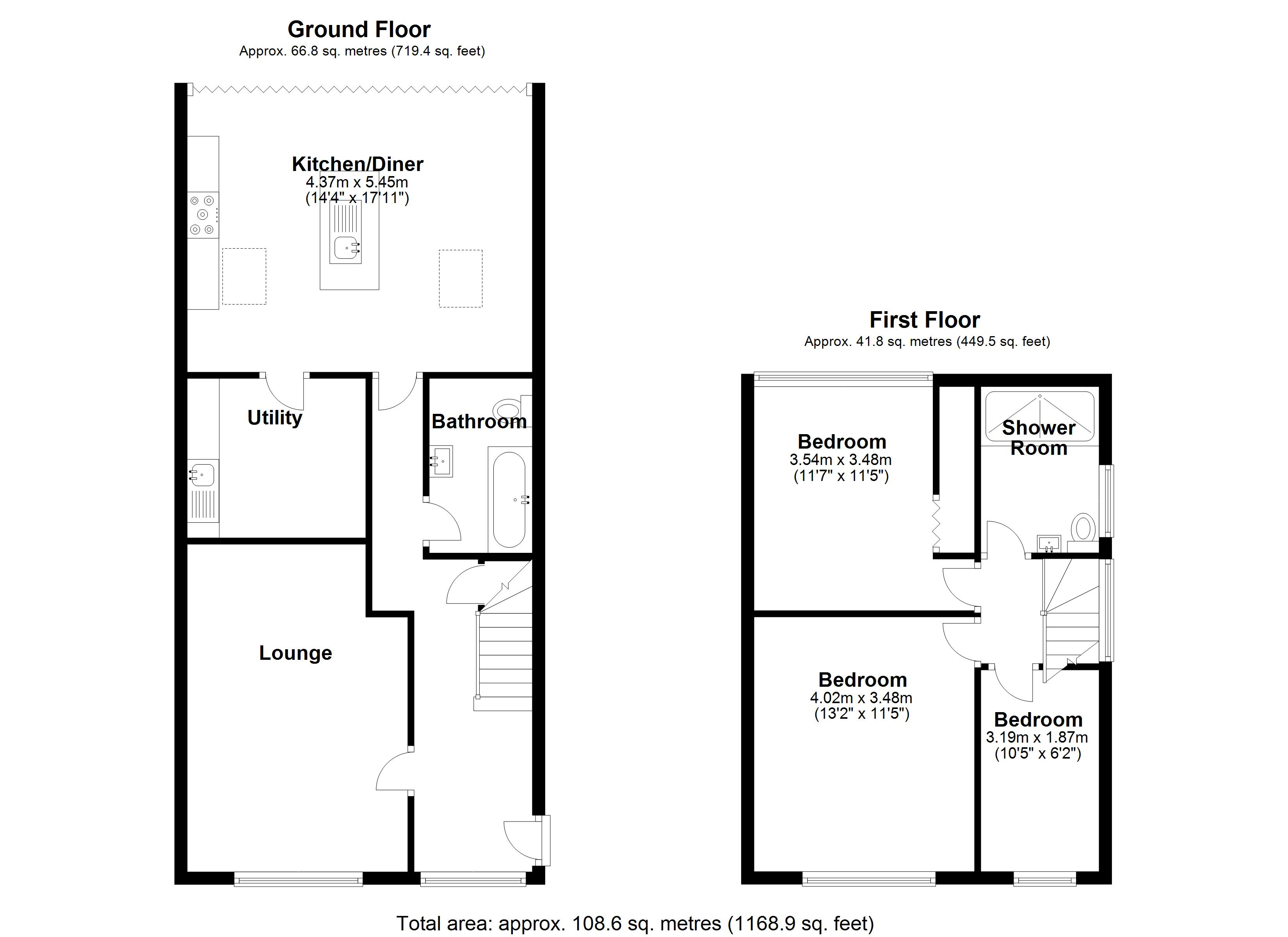 Floorplan for Fallowfield Road, Solihull
